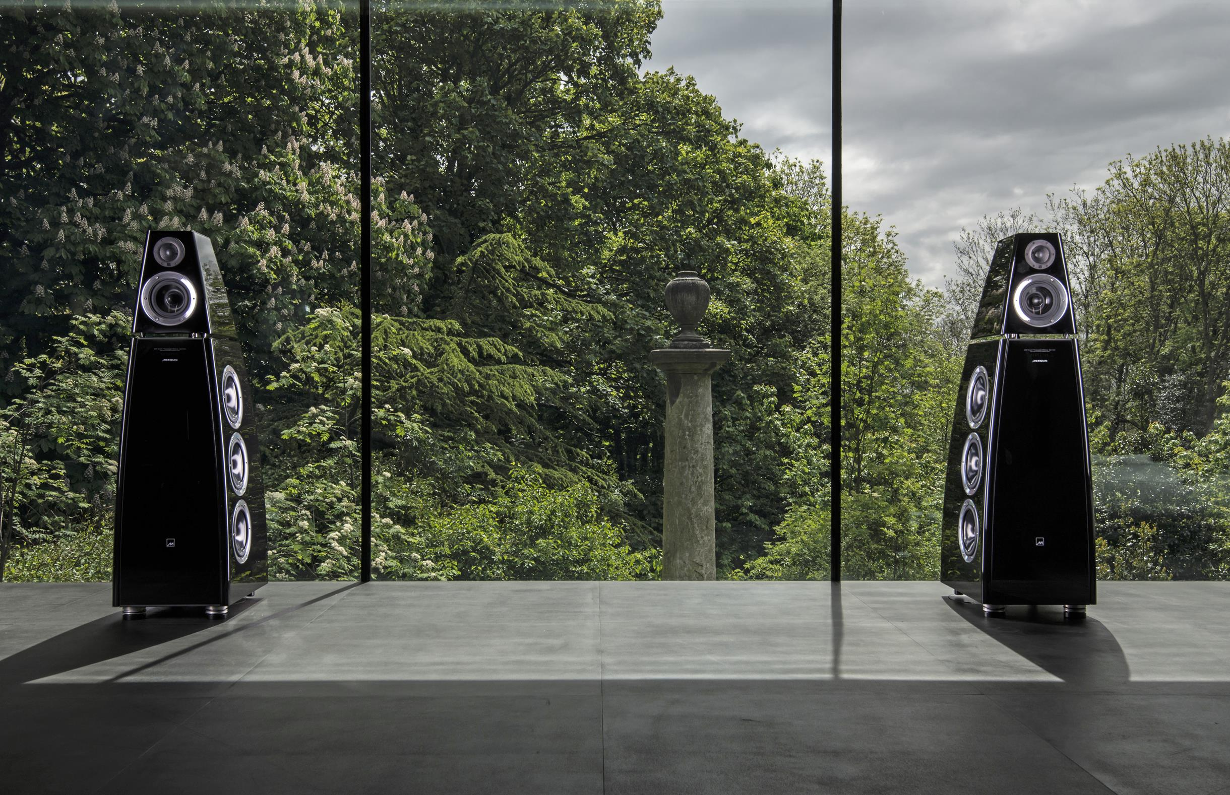 Speakers with a view