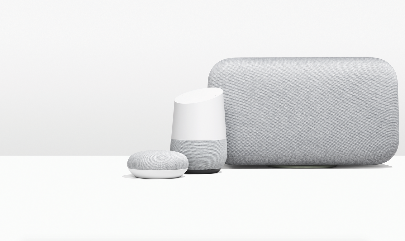 Google Home fmaily